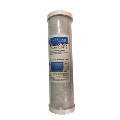 美國進口濾心KX牌塊狀壓縮活性炭濾心-NSF認證